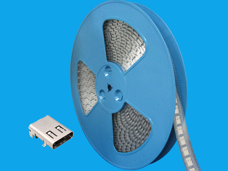 Usb female dip 90 24 pin c type Reel